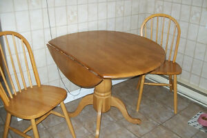 FOLD DOWN TABLE WITH 2 CHAIRS Windsor Region Ontario image 3