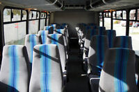 24 seat shuttle bus availabe for group travel