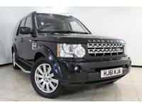 2012 61 LAND ROVER DISCOVERY 3.0 4 SDV6 HSE 5DR AUTOMATIC 255 BHP DIESEL