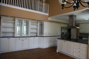 Custom Kitchen Cabinets  with Granite Top