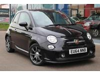 2014 ABARTH 500 1.4 16V T Jet 16andquot; ALLOYS, BLUETOOTH and P SENSORS
