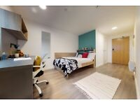 STUDENT ROOM TO RENT IN LONDON. PRIVATE ROOM WITH SINGLE BED, STUDY AREA & WARDROBE