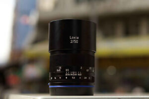 Zeiss Loxia 50mm f/2.0 Lens for Sony E-Mount and B+W filter