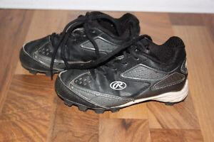 Youth Size 11 Baseball Shoes