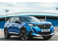2021 Peugeot 2008 100kW GT 50kWh 5dr Auto Hatchback Electric Automatic