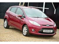 2010 Ford Fiesta 1.4 ZETEC TDCI 5D 68 BHP + FREE NATIONWIDE DELIVERY + FREE 3 YE