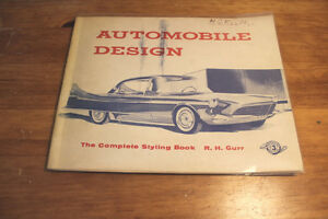 Automobile Design. The Complete Styling Book 1955 - Rare