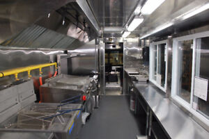 Book your 2018 24 FT Custom Concession Trailer / Food Truck!