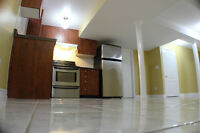 1 Bedroom, Almost New Professionally Finished Basement Apt.