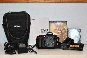 NIKON D90 SLR Camera Body/Accessories/Low shutter actuations