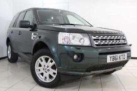 2012 61 LAND ROVER FREELANDER 2.2 SD4 XS 5DR AUTOMATIC 190 BHP DIESEL