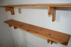 IKEA TV stand and 2 shelves from Abo collection