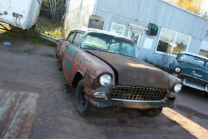 For Sale: 2 1955 Chevys