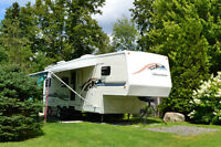 5thwheel Yellowstone 30FRK (31'-8'') with 2 extensions