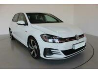 2017 WHITE VW GOLF 2.0 GTI 230 DSG 5DR AUTO HATCH CAR FINANCE FR £321 PCM