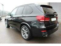 2016 BLACK BMW X5 3.0 XDRIVE40D M SPORT DIESEL AUTO 4X4 CAR FINANCE FR £409 PCM