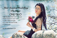 $60 Mini session Modelling Packages