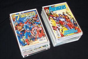 1998 Marvel Avengers Vol 3 #1-74 Comic Lot 69 pcs High Grade