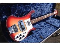 Rickenbacker 4003 Bass + Upgrades