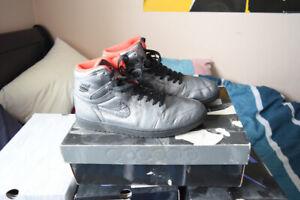Air Jordan Pewter 1 Size 11