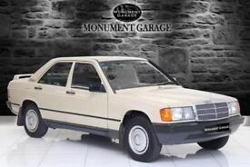 1984 Mercedes Benz 190 190 Automatic 4 door Saloon