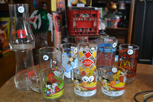 Several Collector Glasses Vintage Movie Cartoon Bar Beer Glass Windsor Region Ontario image 1