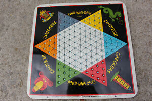 Baseball,Chinese Checkers,Auto Race & Checkers games era 1953