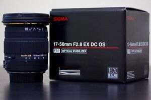 Looking for SIGMA 17-50mm f/2.8 EX DC OS HSM Canon