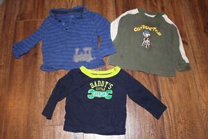 18-24 Months long sleeve shirts