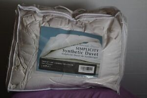 SIMPLICITY SYNTHETIC SINGLE DUVET