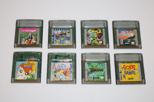 8 GameBoy Color Games