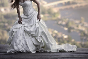 Maggie Sottero (Ivory/Bewter)