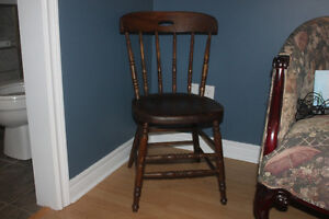 Antique Chair ( heavy and sturdy )