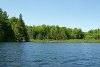 7 ACRE WATER FRONT LOT ON PATTERSON LAKE, ONTARIO - 1 HR.WEST