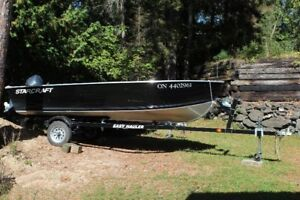 2014 14' StarCraft with 2014 20 HP Four Stoke Yamaha and Trailer