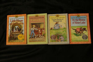 4 Little house on the prairie books