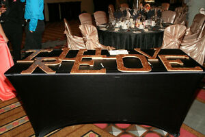 Wooden Letters *Great for Wedding Pictures* Windsor Region Ontario image 2