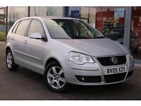 2009 VOLKSWAGEN POLO 1.4 Match 80 Auto LOW MILES, ALLOYS and AIR CON