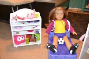 American Girl Doll with Accessories