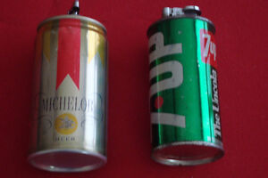 vintage michelob and 7 up lighters Kingston Kingston Area image 1