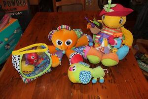 Box Lot of Lamaze Toys