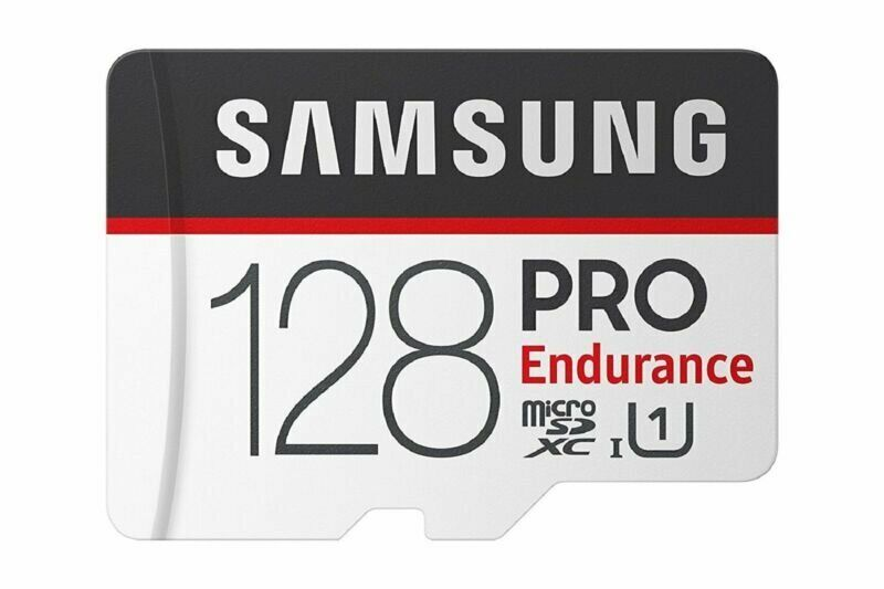 Samsung PRO Endurance 128GB Micro SDXC Card with Adapter - 1