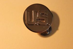 "Vintage US Military Lapel / collar 1"" Pin"