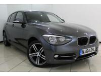 2015 64 BMW 1 SERIES 2.0 116D SPORT 5DR 114 BHP DIESEL