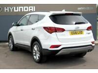 2016 Hyundai Santa Fe 2.2 CRDi Premium 4WD (5 Seat) Diesel white Automatic