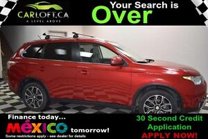 2015 Mitsubishi Outlander GT AWD - SUNROOF**HEATED LEATHER**NAV