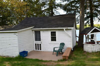 two cottages for rent on Clear Lake July 11-18