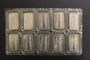Johnson Matthey -Rare SOOTERS 1 Ounce Fine Silver Bars