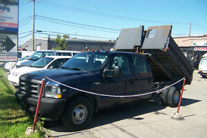 2002 FORD E-350 Super Duty DUMPER 6.8L (Location $500+TX) 4port