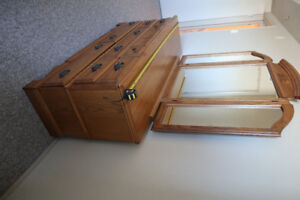 Solid Oak Bedroom Suite - Priced to Sell